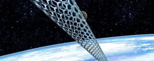 Giappone, al via i test per l'ascensore spaziale