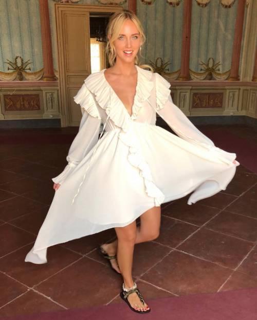 Chiara Ferragni hot in latex 5