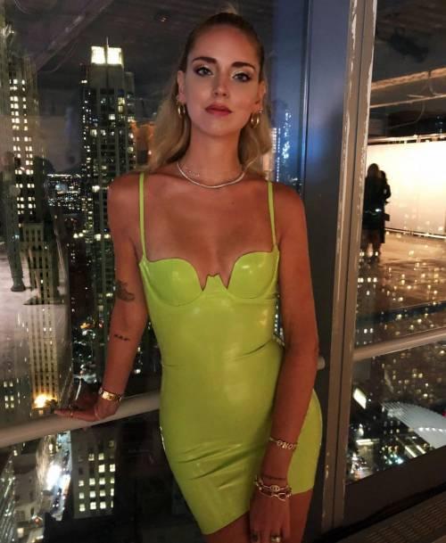 Chiara Ferragni hot in latex 6