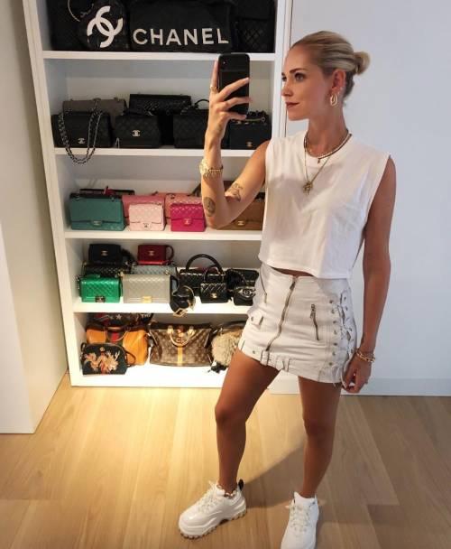 Chiara Ferragni hot in latex 10