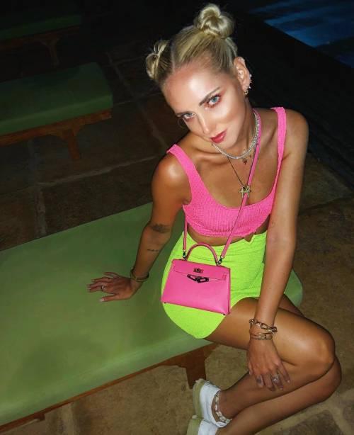 Chiara Ferragni hot in latex 1