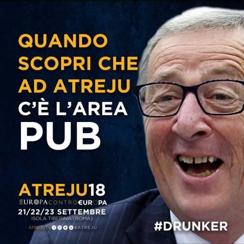 La campagna social di Atreju contro Boldrini, Renzi e Junker 3