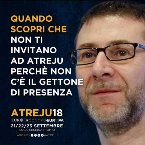 La campagna social di Atreju contro Boldrini, Renzi e Junker 4