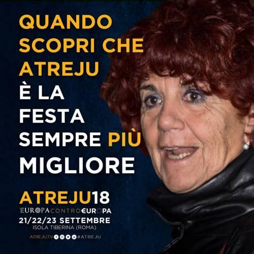La campagna social di Atreju contro Boldrini, Renzi e Junker 6