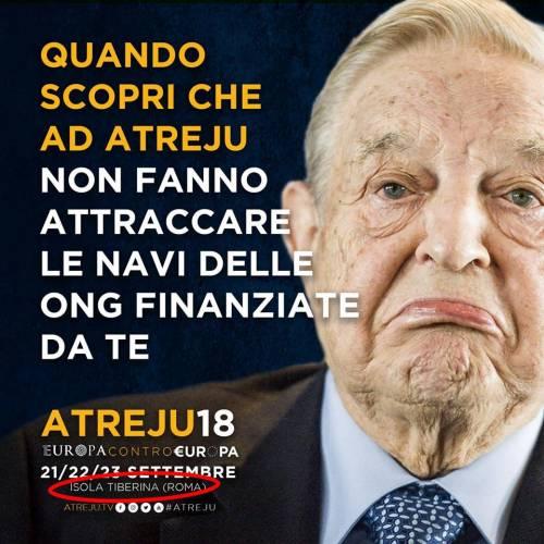 La campagna social di Atreju contro Boldrini, Renzi e Junker 8