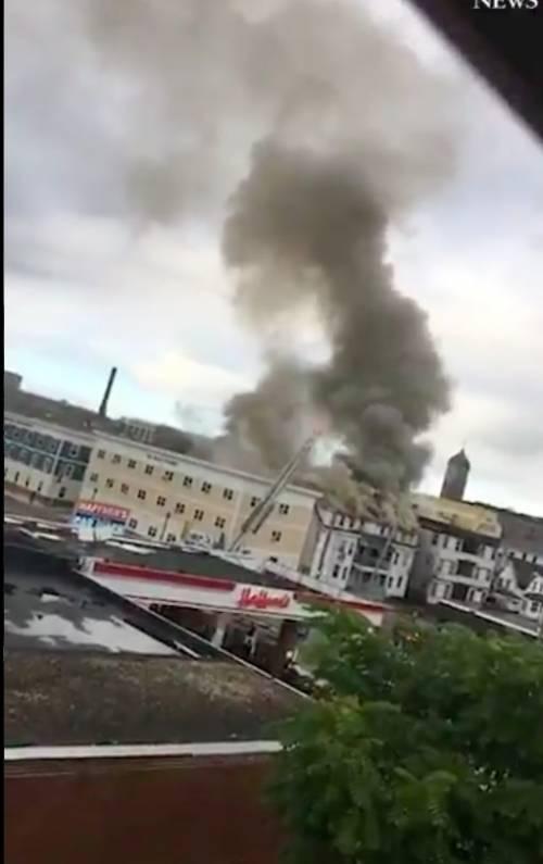 Usa, 70 esplosioni di gas in città del Massachusetts: un morto e decine di case in fiamme