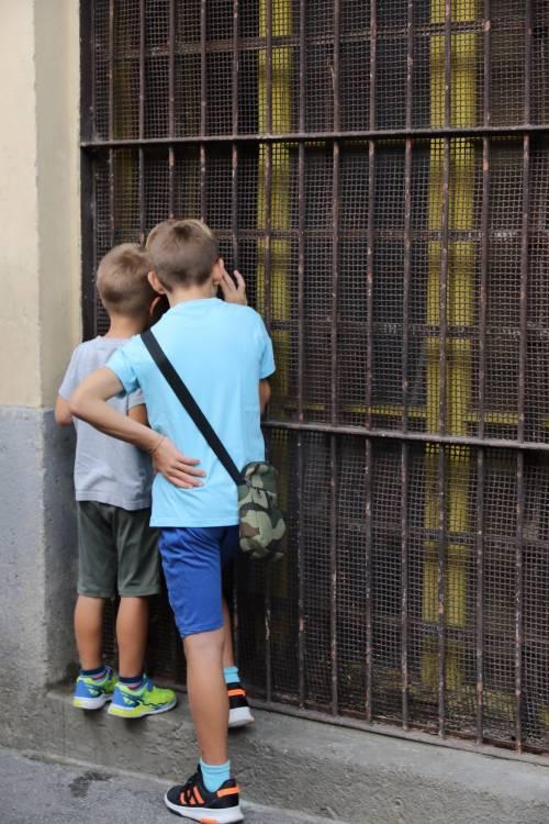Volontari nella scuola dopo gli atti vandalici  4