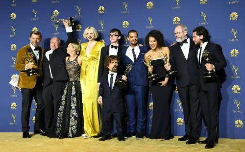 """Usa, Emmy Awards: nuovo trionfo per il """"Trono di spade"""""""