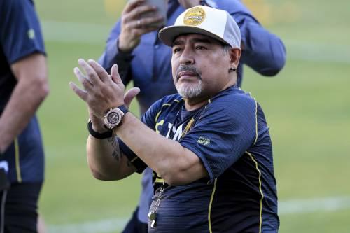 Diego Armando Maradona ricoverato per emorragia allo stomaco