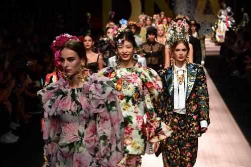 Monica Bellucci e le star in passerella per Dolce & Gabbana 12