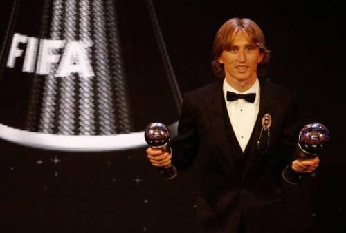 Fifa Awards, Modric giocatore dell'anno