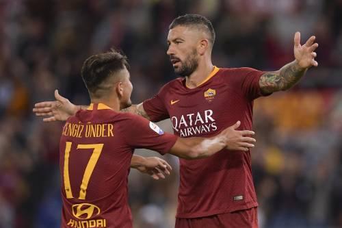La Roma prende un brodino per il derby