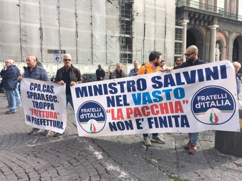 Salvini a Napoli: le voci della piazza  1