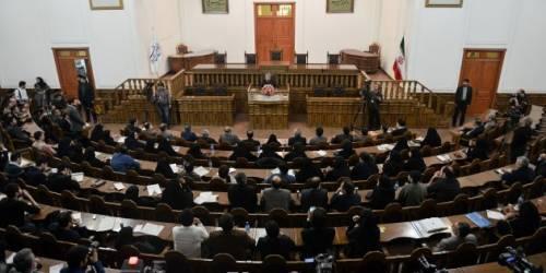 Seduta del Parlamento iraniano