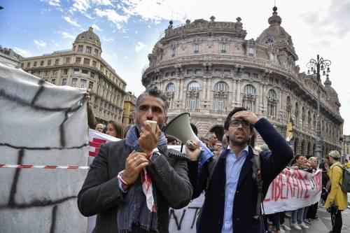 Genova, la protesta contro il governo 6