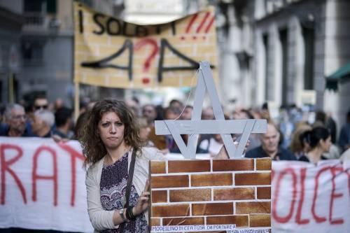 Genova, la protesta contro il governo 9