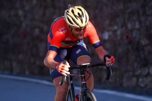 Nibali, frattura del radio in allenamento: Giro a forte rischio
