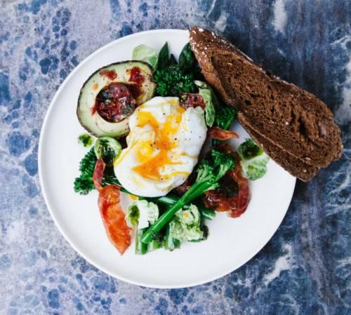 Dimagrire con la colazione salata