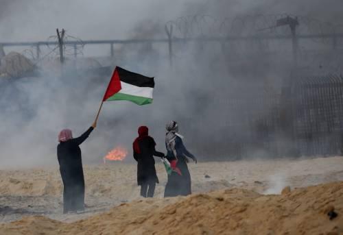 Gaza, raid israeliano sulla striscia dopo il lancio di missili palestinesi