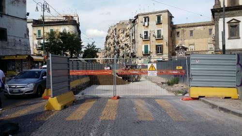 Napoli, via Carbonara in ginocchio per i cantieri 4