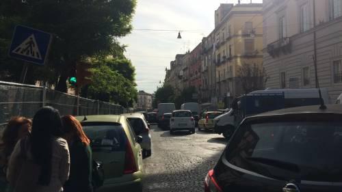Napoli, via Carbonara in ginocchio per i cantieri 11
