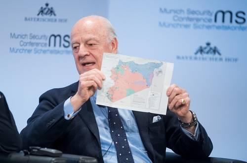 Siria, De Mistura lascia l'incarico di inviato delle Nazioni Unite