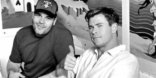 Chris Hemsworth, l'incontro con Genny Savastano di Gomorra