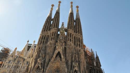 Barcellona, dopo 137 anni ripartono lavori per la costruzione della Sagrada Familia