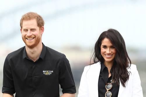 Il Principe Harry e Meghan Markle in Australia 10