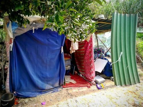 Valle Aurelia, i mini-appartamenti dei rom a Monte Ciocci 3