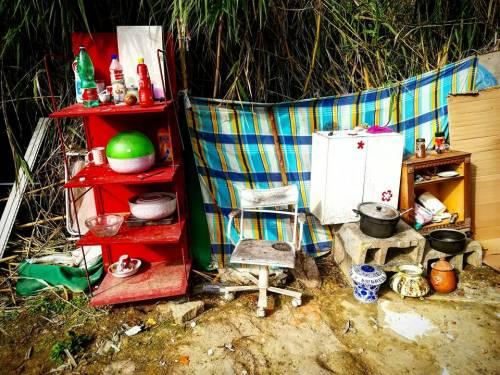 Valle Aurelia, i mini-appartamenti dei rom a Monte Ciocci 7