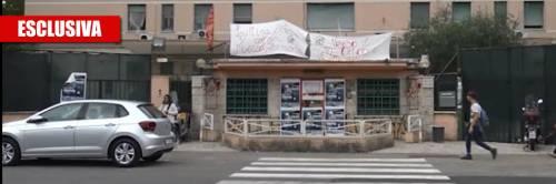 Roma, clinica di lusso in mano ai movimenti per la casa