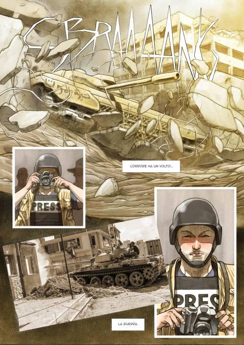 Le immagini inedite del fumetto di Biloslavo  2