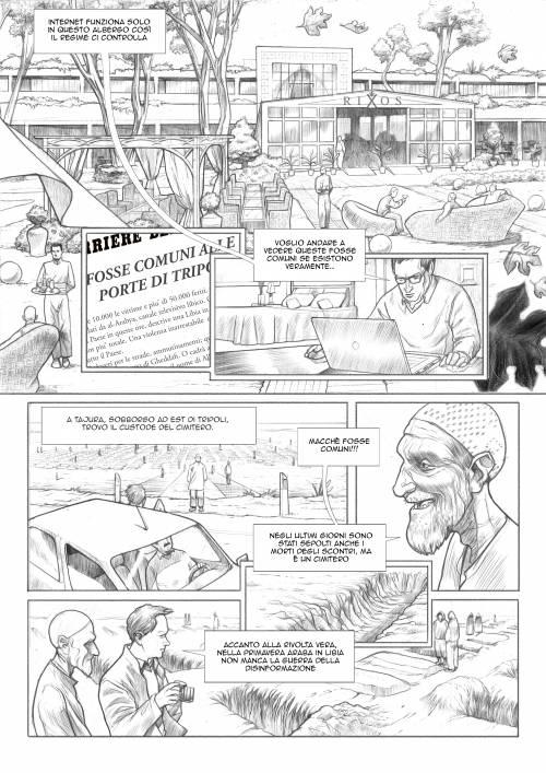 Le immagini inedite del fumetto di Biloslavo  4