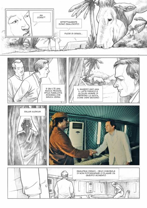 Le immagini inedite del fumetto di Biloslavo  5