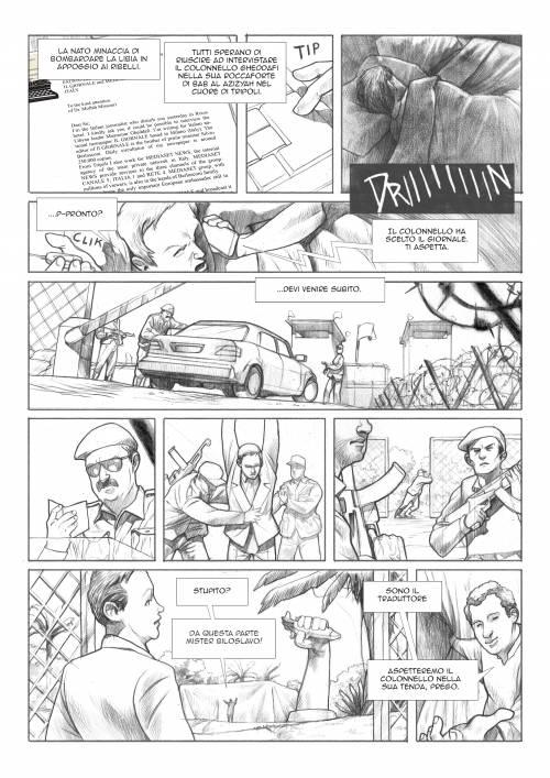 Le immagini inedite del fumetto di Biloslavo  7
