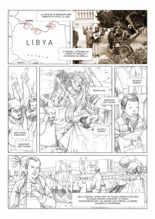 Le immagini inedite del fumetto di Biloslavo  6