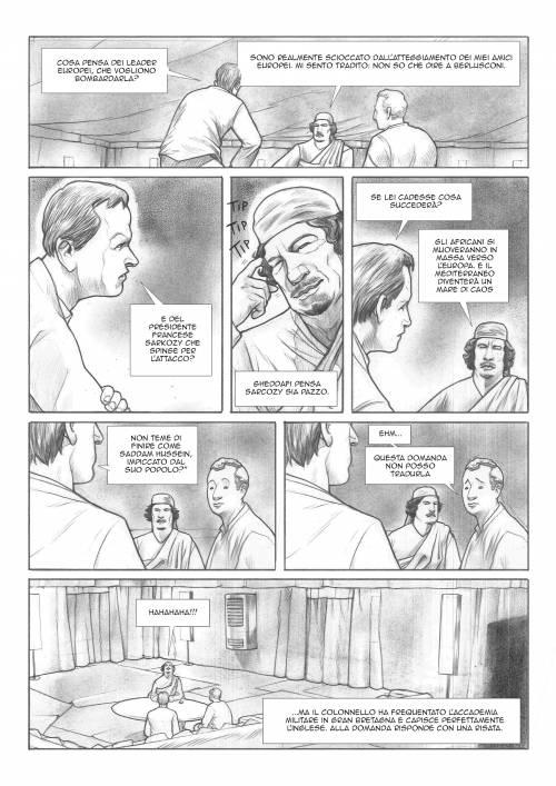 Le immagini inedite del fumetto di Biloslavo  8
