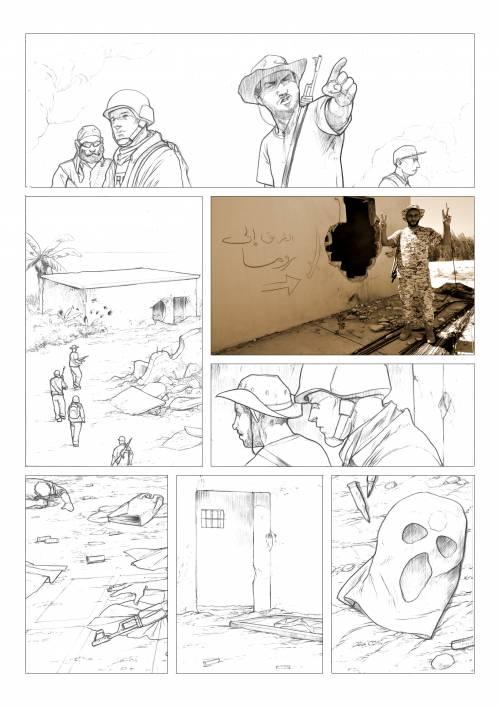 Le immagini inedite del fumetto di Biloslavo  12
