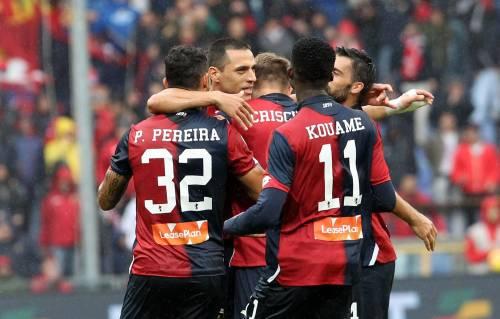 Serie A, vincono Cagliari e Frosinone. Genoa-Udinese finisce 2-2