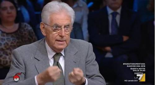 Manovra, Monti ancora all'attacco: Aula bivacco di senatori esautorati