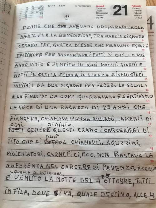 Il diario inedito del cugino di Norma Cossetto 7