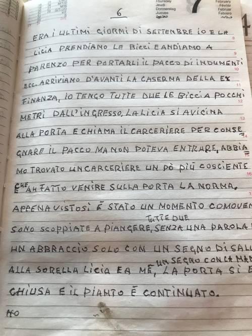 Il diario inedito del cugino di Norma Cossetto 3