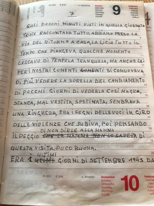 Il diario inedito del cugino di Norma Cossetto 4