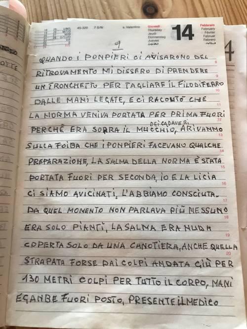 Il diario inedito del cugino di Norma Cossetto 5
