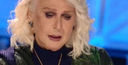 Loretta Goggi in lacrime a Tale e quale show