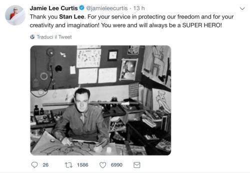 I vip salutano Stan Lee, foto 7