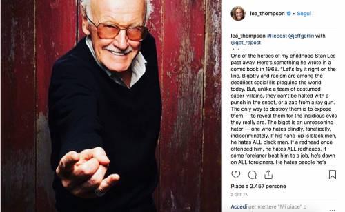 I vip salutano Stan Lee, foto 10