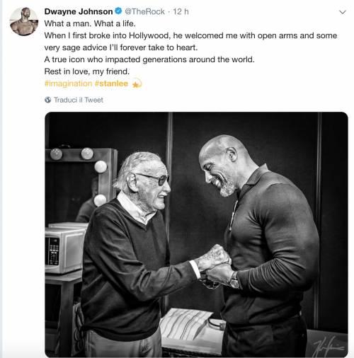 I vip salutano Stan Lee, foto 6
