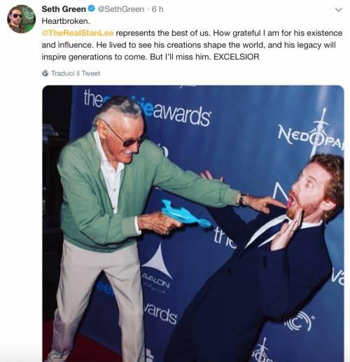 I vip salutano Stan Lee, foto 3